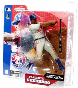 McFarlane Toys MLB Sports Picks Series 3 Action Figure Vladimir Guerrero (Montreal Expos) Gray Jersey