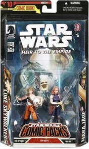Star Wars Expanded Universe Action Figure 2-Pack Mara Jade & Luke Skywalker