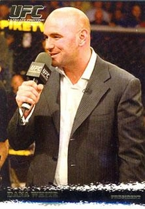 Topps UFC Ultimate Fighting Championship Single Card Round 1 Dana White #97