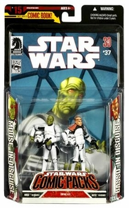 Star Wars Expanded Universe Action Figure 2-Pack Mouse & Basso [Stormtrooper Disguise]