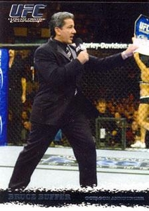 Topps UFC Ultimate Fighting Championship Single Card Round 1 Bruce Buffer #99