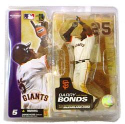 McFarlane Toys MLB Sports Picks Series 5 Action Figure Barry Bonds (San Francisco Giants) White Jersey