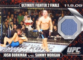Topps UFC Ultimate Fighting Championship Single Card Round 1 Fight Mat Relic Card Josh Burkman Vs. Sammy Morgan #DM-BM
