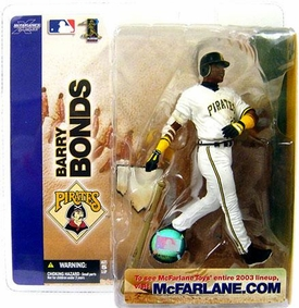 McFarlane Toys MLB Sports Picks Series 5 Action Figure Barry Bonds (Pittsburgh Pirates) Pirates Variant
