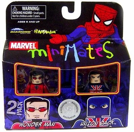 Marvel MiniMates Exclusive Mini Figure 2-Pack Wonder Man & Union Jack