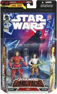 Star Wars Expanded Universe Action Figure 2-Pack Bultar Swan & Koffi Arana Damaged Package, Mint Contents!