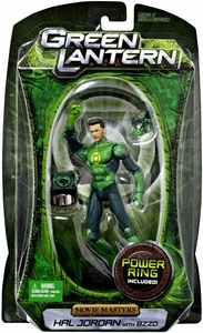 Green Lantern Movie Masters Series 3 Action Figure Hal Jordan {Maskless} with Bzzd [Includes Power Ring!]