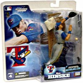 McFarlane Toys MLB Sports Picks Series 4 Action Figure Eric Hinske (Toronto Blue Jays) Gray Jersey
