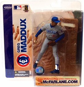 McFarlane Toys MLB Sports Picks Series 4 Action Figure Greg Maddux (Chicago Cubs) Cubs Jersey Variant