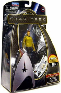 Star Trek Movie Playmates 3 3/4 Inch Action Figure Kirk [Enterprise Uniform]