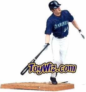 McFarlane Toys MLB Sports Picks Series 15 Action Figure Richie Sexson (Seattle Mariners) Blue Jersey Chase Piece