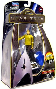 Star Trek Movie Playmates 3 3/4 Inch Action Figure Pike [Enterprise Uniform]
