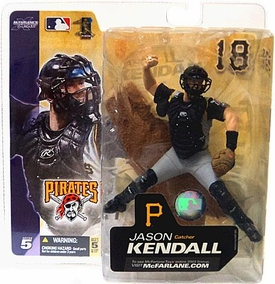 McFarlane Toys MLB Sports Picks Series 5 Action Figure Jason Kendall (Pittsburgh Pirates) Gray Jersey Variant
