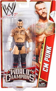 Mattel WWE Wrestling Basic Series 29 Action Figure #36 CM Punk