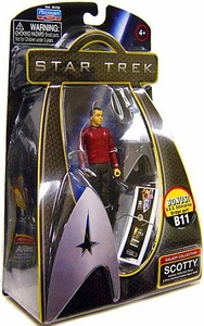 Star Trek Movie Playmates 3 3/4 Inch Action Figure Scotty [Enterprise Uniform]