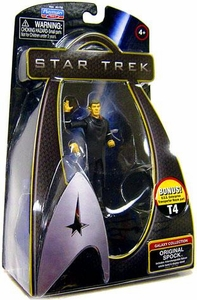 Star Trek Movie Playmates 3 3/4 Inch Action Figure Spock [Original]