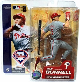 McFarlane Toys MLB Sports Picks Series 5 Action Figure Pat Burrell (Philadelphia Phillies)