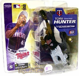 McFarlane Toys MLB Sports Picks Series 5 Action Figure Torii Hunter (Minnesota Twins) White Pants