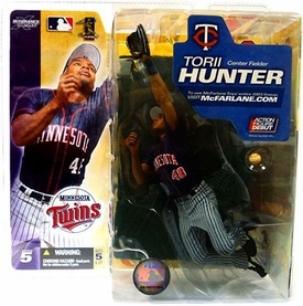 McFarlane Toys MLB Sports Picks Series 5 Action Figure Torii Hunter (Minnesota Twins) Gray Pants