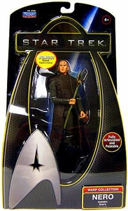 Star Trek Movie Playmates 6 Inch Deluxe Action Figure Nero