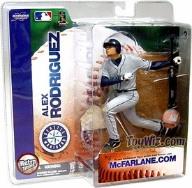 McFarlane Toys MLB Sports Picks Series 6 Action Figure Alex Rodriguez (Seattle Mariners) Mariners Jersey Variant