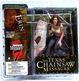 McFarlane Toys Movie Maniacs Series 7 Action Figure Erin [Texas Chainsaw Massacre]