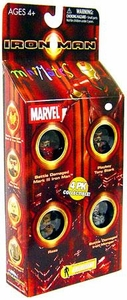 Marvel MiniMates Mini Figure 4-Pack Iron Man [Raza, Tony, Battle Damaged Iron Monger & Battle Damaged Iron Man]