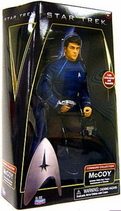 Star Trek Movie Playmates 12 Inch Deluxe Action Figure McCoy [Enterprise Uniform]
