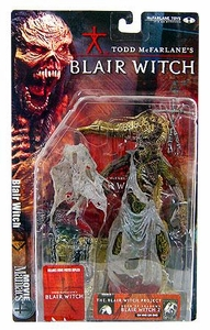 McFarlane Toys Movie Maniacs Series 4 Action Figure Blair Witch Project: Blair Witch [Tree Face] Damaged Package, Mint Contents!