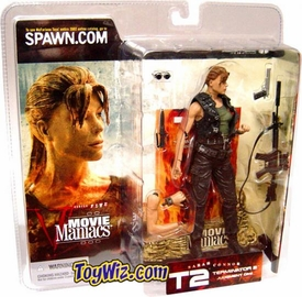 McFarlane Toys Movie Maniacs Series 5 Action Figure Sarah Connor [Pony Tail, No Hat Variant]