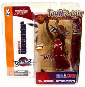 McFarlane Toys NBA Sports Picks Series 4 Action Figure Dajuan Wagner (Cleveland Cavaliers) Red Jersey
