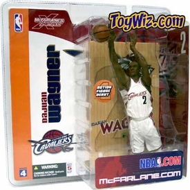McFarlane Toys NBA Sports Picks Series 4 Action Figure Dujuan Wagner (Cleveland Cavaliers) White Jersey Variant