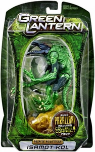 Green Lantern Movie Masters Series 2 Action Figure Isamot Kol [Build Parallax Piece]
