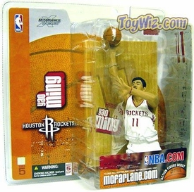 McFarlane Toys NBA Sports Picks Series 5 Action Figure Yao Ming (Houston Rockets) White Jersey BLOWOUT SALE!
