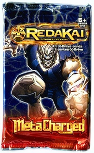 Redakai Card Game Metacharged Booster Pack [11 X-Drive Cards]