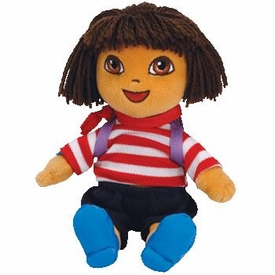 Ty Dora the Explorer Beanie Baby Dora France