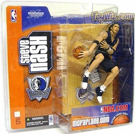 McFarlane Toys NBA Sports Picks Series 5 Action Figure Steve Nash (Dallas Mavericks) Blue Jersey