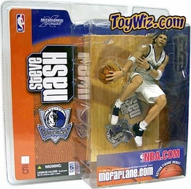 McFarlane Toys NBA Sports Picks Series 5 Action Figure Steve Nash (Dallas Mavericks) White Jersey Variant