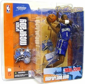 McFarlane Toys NBA Sports Picks Series 5 Action Figure Tracy McGrady (Orlando Magic) Blue Jersey
