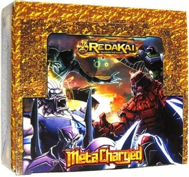 Redakai Card Game HOBBY Edition MetaCharged GOLD Booster BOX [24 Packs]