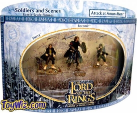 Lord of the Rings AOME Soldiers And Scenes Attack At Amon Hen