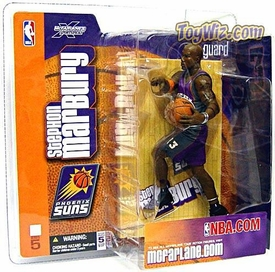 McFarlane Toys NBA Sports Picks Series 5 Action Figure Stephon Marbury (Phoneix Suns) Purple Jersey Variant BLOWOUT SALE!