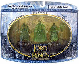 Lord of the Rings Armies of Middle Earth Soldiers And Scenes Army of the Dead