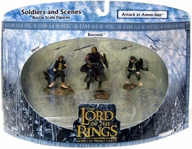 Lord of the Rings Armies of Middle Earth Soldiers and Scenes Attack At Amon Hen [Boromir, Merry & Pippin]