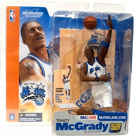 McFarlane Toys NBA Sports Picks Series 2 Action Figure Tracy McGrady (Orlando Magic) White Jersey BLOWOUT SALE!