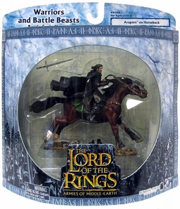 Lord of the Rings Armies of Middle Earth Warriors And Battle Beasts Aragorn on Horseback