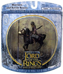 Lord of the Rings Armies of Middle Earth Warriors And Battle Beasts Eomer on Horseback
