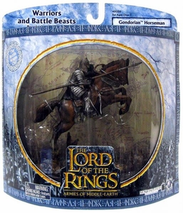 Lord of the Rings Armies of Middle Earth Warriors And Battle Beasts Gondorian Horseman [Jumping]