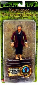 Lord of the Rings Fellowship of the Ring Action Figure 111th Birthday Celebration Bilbo [Red Coat]