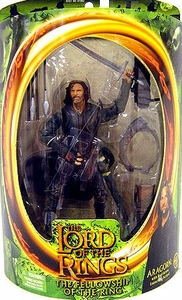 Lord of the Rings Fellowship of the Ring Aragon with Real Arrow Launching Action